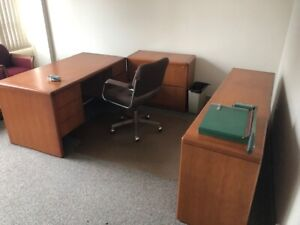 OFFICE FURNITURE & FILE CABINETS