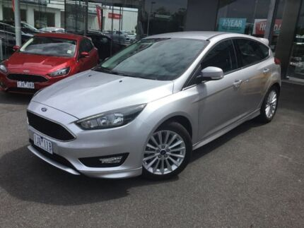 2017 Ford Focus Silver Automatic Hatchback Traralgon Latrobe Valley Preview