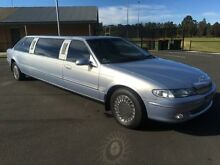 1995 Ford Fairlane NF Ghia Blue 4 Speed Automatic Sedan Condell Park Bankstown Area Preview