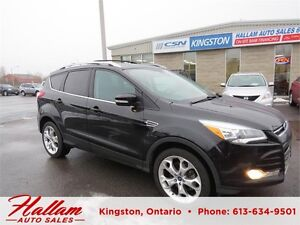 2013 Ford Escape Titanium, Leather, Bluetooth, 4 Wheel Drive