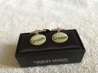 WEDDING DAY CUFFLINKS