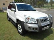 2006 Toyota Landcruiser Prado KDJ120R Grande White 5 Speed Automatic Wagon Kippa-ring Redcliffe Area Preview
