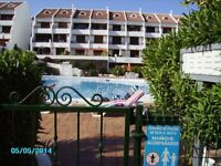 Tenerife Poolside apt on Sought after Parque Santiago 1, Playa de las Americas