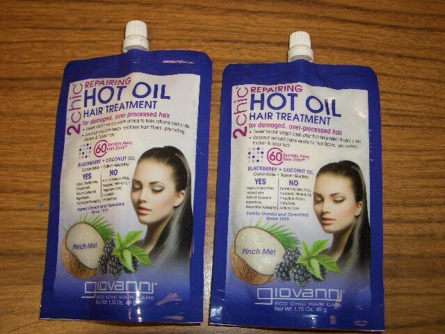 2chic Oil Repairing Hot Oil Treatment with Blackberry & Coco
