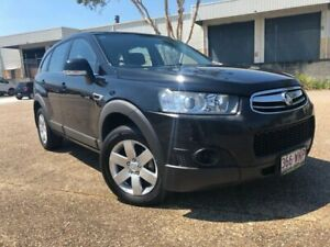 2012 Holden Captiva CG Series II 7 SX Black 6 Speed Sports Automatic Wagon Woodridge Logan Area Preview