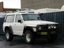1988 Nissan Patrol DX (4x4) White 5 Speed Manual 4x4 Hardtop Condell Park Bankstown Area Preview
