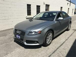 2010 AUDI A4 2.0T QUATTRO 6 SPEED MANUAL/ CERTIFIED!!!