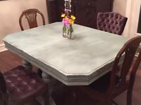 Re-Finished Vintage Dining Table