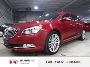 2014 Buick LaCrosse LEATHER/PANO ROOF/ HEADS UP DISPLAY/ NAV/ CA