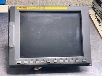 Fanuc Series 160i-lb Cnc Display Unit W Pc A13b-0193-b032 Mfgd 2005-10