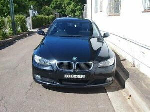 2009 BMW 323I E92 Coupe Cosmos Black Automatic Coupe Petersham Marrickville Area Preview