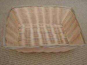 Storage baskets in townsville region qld gumtree australia free rectangular woven wicker basket for display medium size negle Images