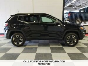 2017 Jeep Compass 4x4,Trailhawk, Leather, Sunroof, Navigation