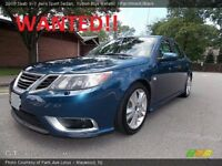 WANTED!! SAAB 9-3 DIESEL OR PETROL, LOW MILES, **MUST BE THE NEW SHAPE IN THE PIC!!**