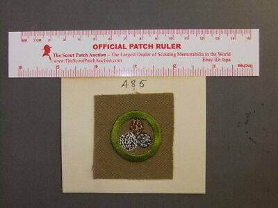 Boy Scout Nut Culture Square Merit Badge 7914Z