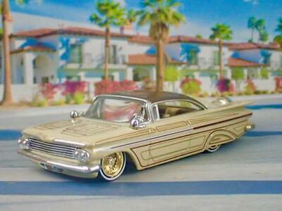 Lowrider 1959 59 Chevrolet Impala Custom Lead Sled l/64 Scale Limited Edition X