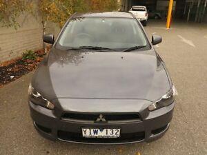 2009 Mitsubishi Lancer CJ MY09 ES Grey 6 Speed Constant Variable Sedan West Footscray Maribyrnong Area Preview