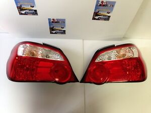 JDM SUBARU WRX STI VERSION 8 REAR TAIL LIGHTS JDM PARTS ENGINES