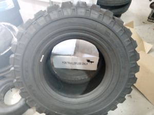 12R16.5 BOBCAT DOUBLE COIN TIRES (2 USED)