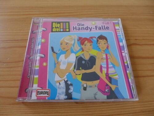 Europa -DIE DREI !!! -DIE HANDY-FALLE- Fall 1 2009 Sony Music Hörspiel