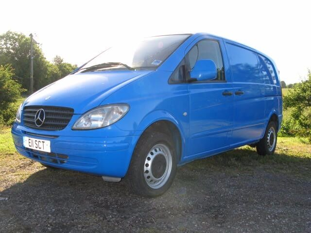 2004 MERCEDES VITO 109 CDi COMPACT MOT MARCH 2018 GOOD RUNNER