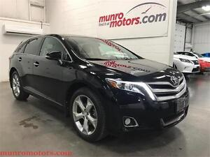 2014 Toyota Venza V6 Limited NAV AWD Leather Roof One Owner