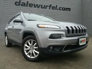 2015 Jeep Cherokee Limited | HEATED & VENTED SEATS | POWER LIFTG