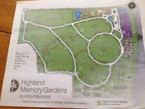 5 Cemetary Plots in Highland Memory Gardens