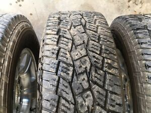 For sale 4 Toyo Open Country A/T tires