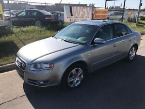 2006 Audi A4 2.0T / AWD / LEATHER SEATS
