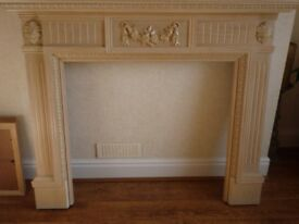 Fire Surround Mantlepiece Light Oak Colour