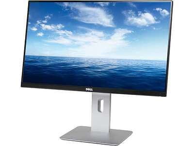 "شاشة ليد جديد Dell UltraSharp U2414H Black 23.8"" 8ms (GTG) HDMI Widescreen LED Backlight Heigh"