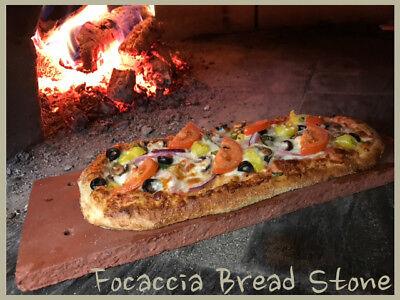 Focaccia Bread Stone Baking PIZZA Bread Stone  Flatbread Prezel Stone - Focaccia Bread Pizza