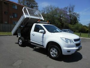 2013 Holden Colorado RG Tipper LX (4x2) Tipper White 6 Speed Automatic Cab Chassis Bankstown Bankstown Area Preview
