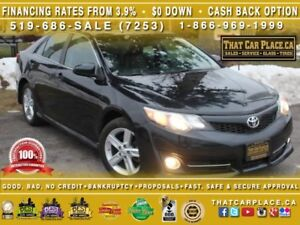 2012 Toyota Camry LE|$67/Wk|Lthr Seat Sides|Bluetooth|Paddle Shi