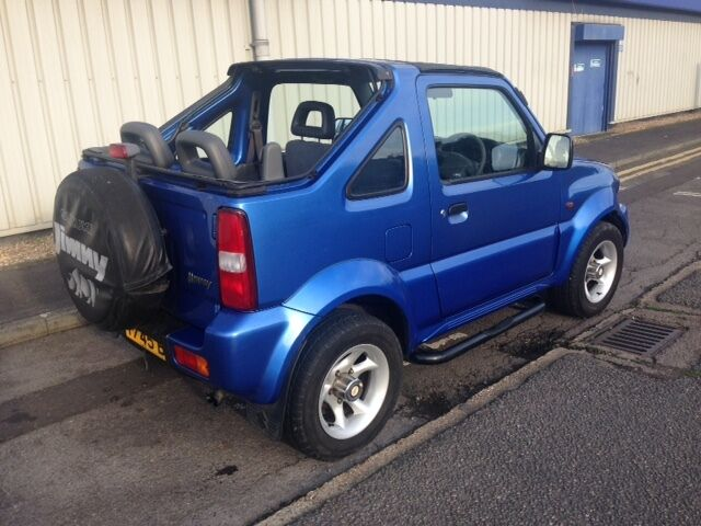 suzuki jimny jlx 1 3 petrol convertible soft top 4x4 in kenton london gumtree. Black Bedroom Furniture Sets. Home Design Ideas