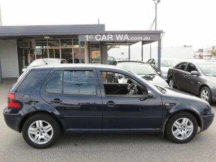 2003 Volkswagen Golf 4th GEN Black 5 Speed Manual Hatchback