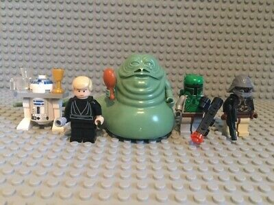 Lego Star Wars Jabba's Palace Figure Bundle