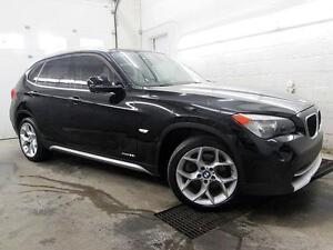 2012 BMW X1 SPORT PACK NOIR / NOIR CUIR TOIT xDrive28i 91,000KM