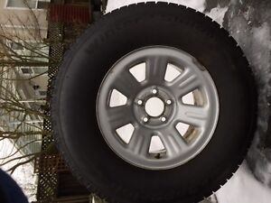 Winter tires and rims for Ford Ranger