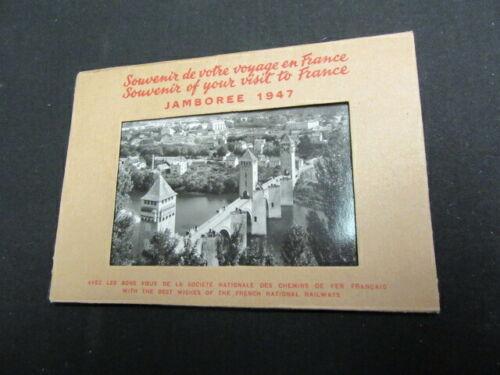1947 World Jamboree Souvenir Postcards, Lot of 6   c85