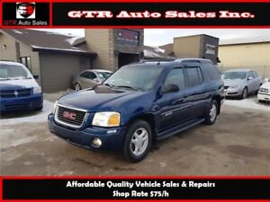 GMC Envoy XUV SLE *WINTER READY 4WD**ONE OF A KIND RIDE*LOW KM*