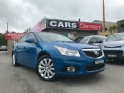 2012 Holden Cruze JH MY12 CDX Blue 6 Speed Automatic Sedan Edgeworth Lake Macquarie Area Preview