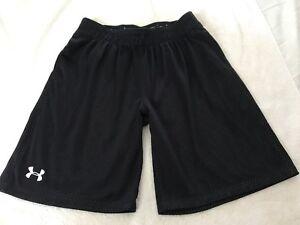 Under Armor boy's youth basketball shorts