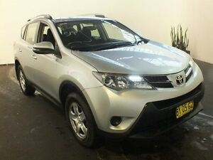 2014 Toyota RAV4 ASA44R GX (4x4) Silver Pearl 6 Speed Automatic Wagon Clemton Park Canterbury Area Preview