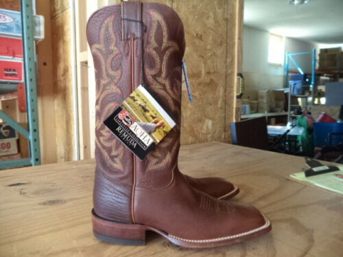 Justin Mens AQHA Western Boot