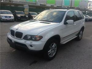 2006 BMW X5 3.0i,AUTO.A/C,ALL POWEROPTIONS,LEATHER AND SUN ROO