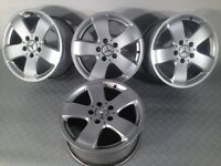 "Ronal Mercedes 16"" 5x112 7.5J original alloy wheels, not bbs, ats hartge, borbet"