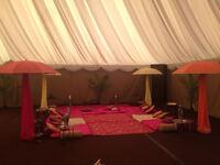 Mehndi Decor and Ladies Sangeet Decor in Birmingham - 07775 791573. Starting from £100