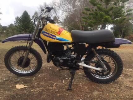 Suzuki RM50 VMX Vintage Motor Cross Cranley Toowoomba City Preview